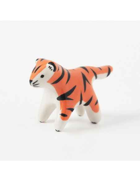 Mini tigre en faïence