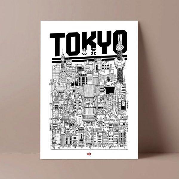 Affiche Tokyo