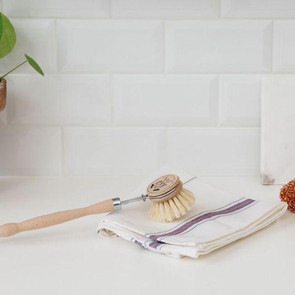 Brosse à vaisselle écologique en bois