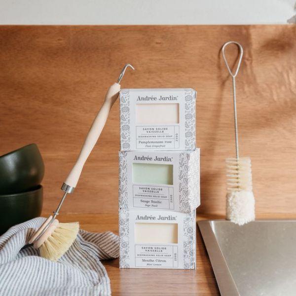 Produit lave vaisselle solide 250g – Menthe/ Citron