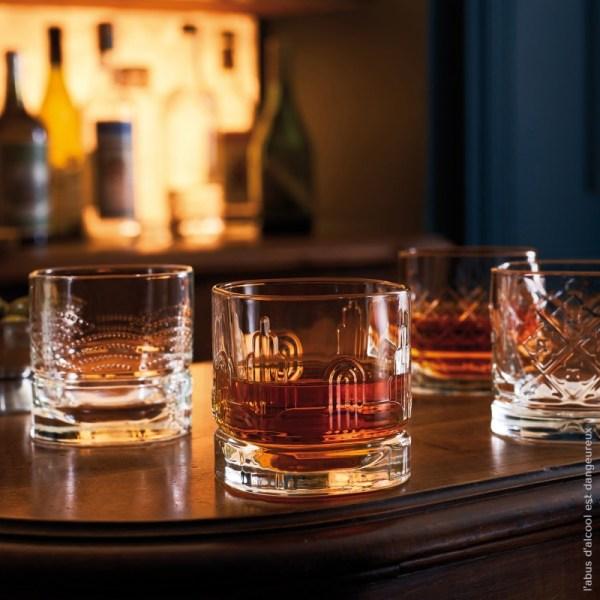 Set de 4 gobelets à Whisky collection «Dandy»