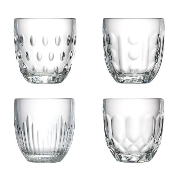 Set de 4 gobelets collection «Troquet»