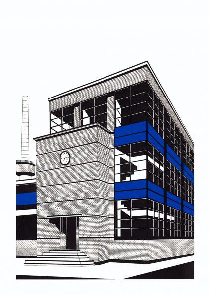 Affiche Hélène Lacombe – Factory