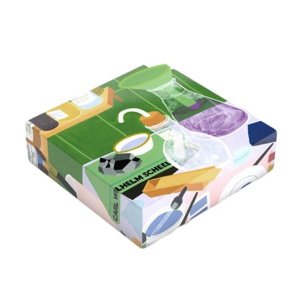 Puzzle imprimé en édition limitée «Laboratoire vert»