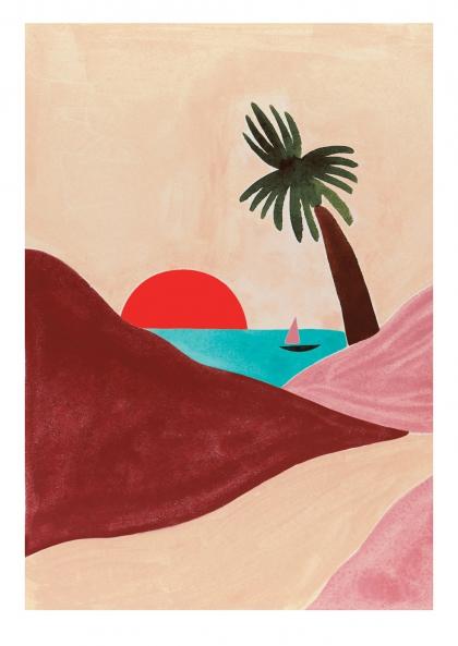 Affiche Léa Morichon – Madagascar