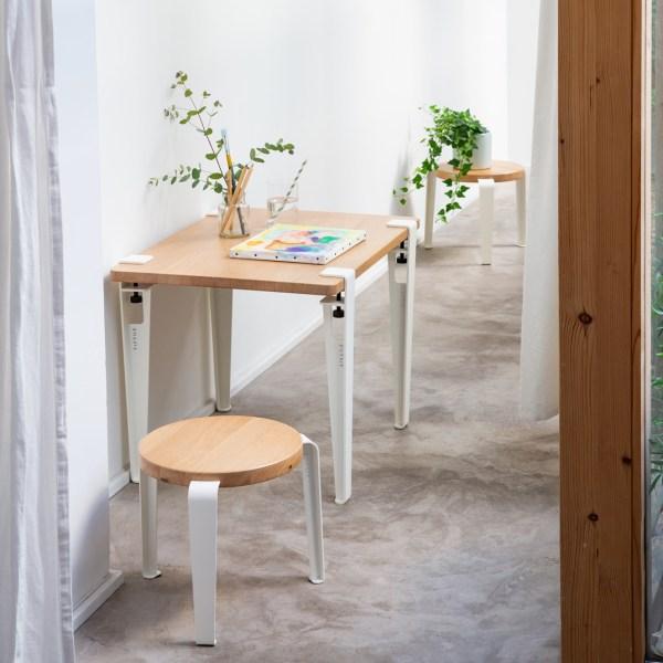 Pied de table et bureau enfant – 50cm