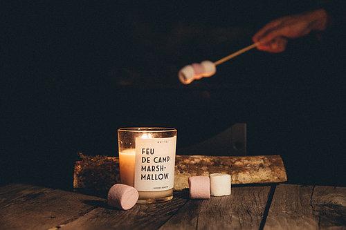 Bougie parfumée – Feu de Camp Marshmallow