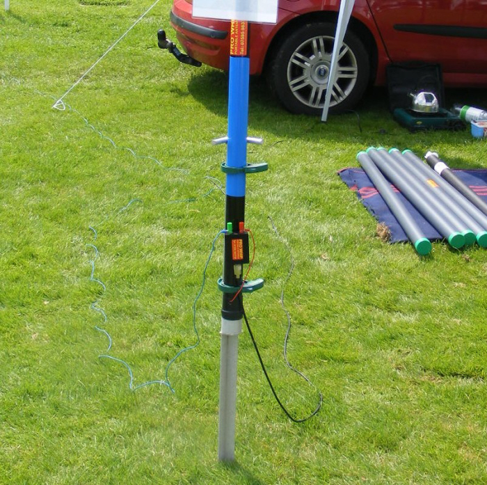 Portable Vertical Hf Antenna Good