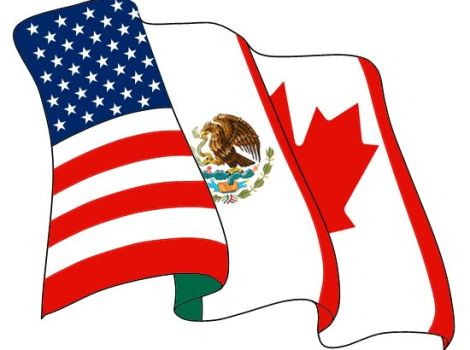A North American Free Trade Agreement (NAFTA) Logo.