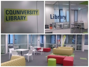 CQUniversity new Melbourne campus - Library
