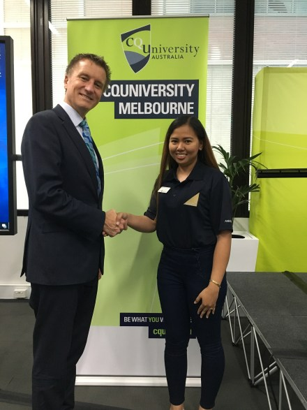 CQUniLife - From Philippines to Melbourne — CPA Ambassador