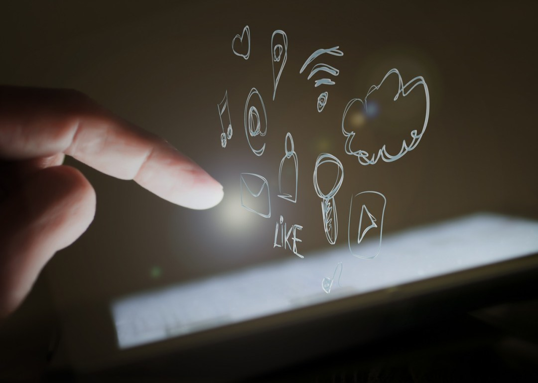 médias sociaux partage contenus inbound nantes