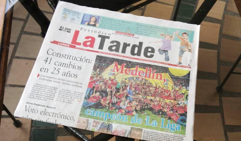 El último periódico impreso será mañana con una edición conmemorativa de los 41 años que duró La Tarde.