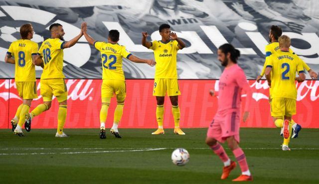 Real Madrid Vs Cádiz CF: Cádiz derrota al Real Madrid por primera vez en la  historia | Deportes | Caracol Radio