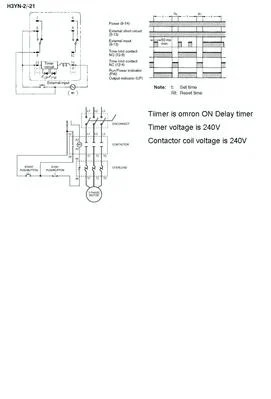 CR4  Thread: How to Wire a 3Phase Motor Contactor and Timer