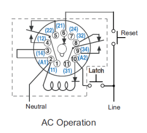 CR4  Thread: Wiring Octal 11pin Latching Relay