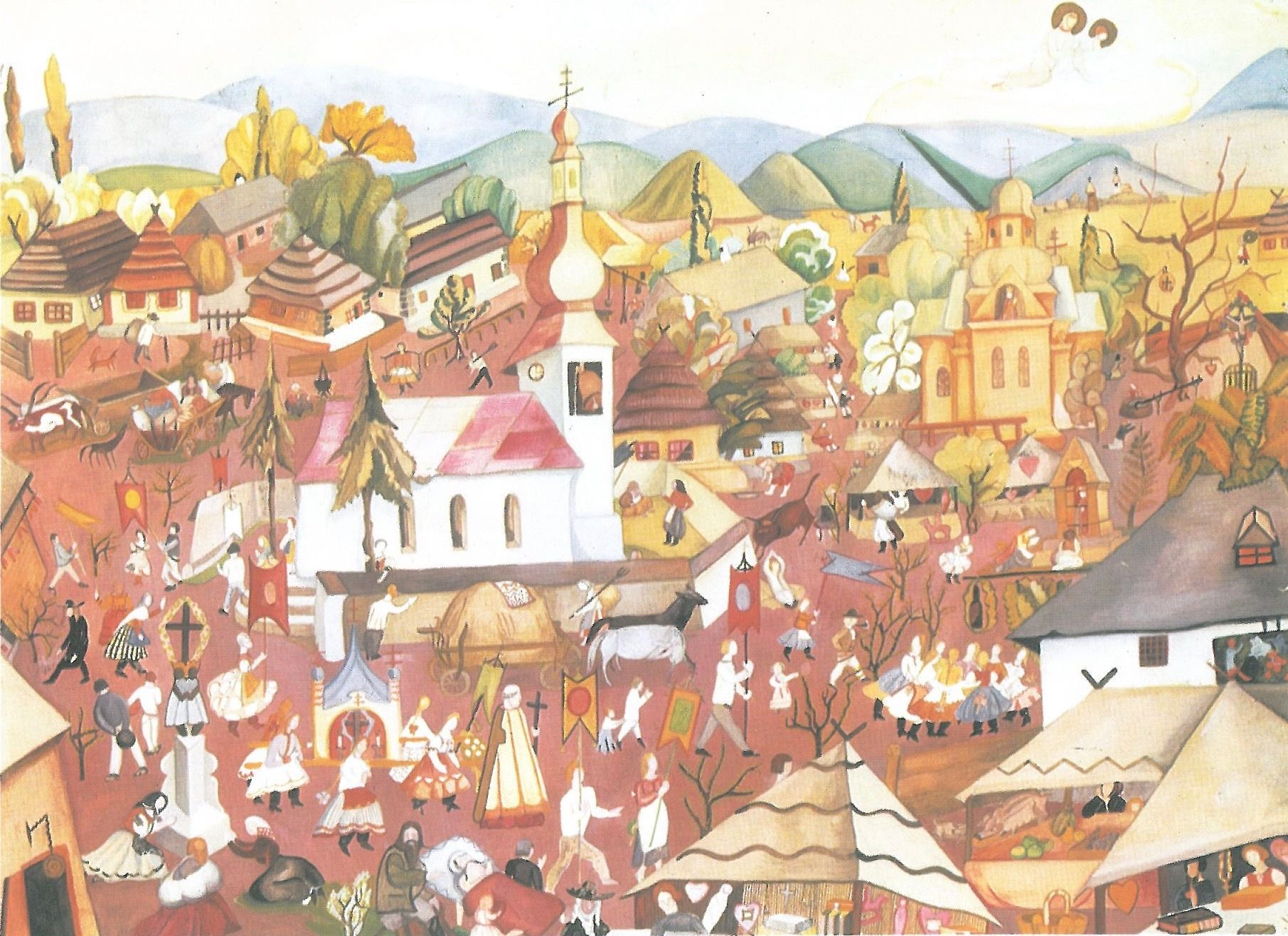 Artwork of the Month, November 2019: Slovak Lourdes by Anna Lesznai (1924)