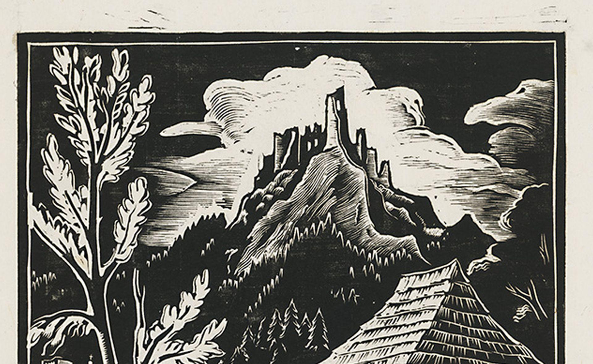Artwork of the Month, December 2019: Hričov by Ferdiš Duša (1933)