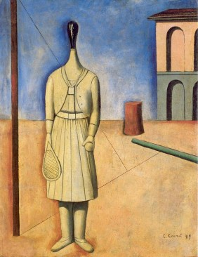 Carlo Carrà: The Girl from the West, 1919