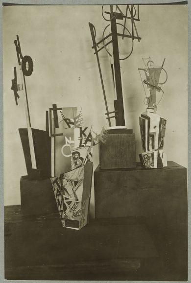 Erika Giovanna Klien: Constructivist Sculptures and Advertising Kiosk, 1914-1934
