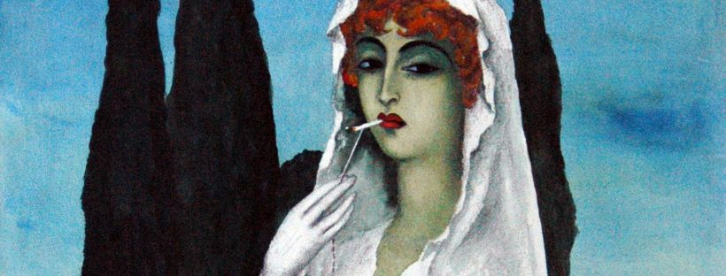 Milada Marešová, A Bride with a Cigarette