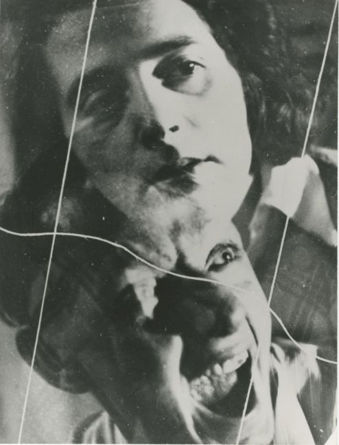 Irena Blühová, Experiment with Two Negatives, 1932