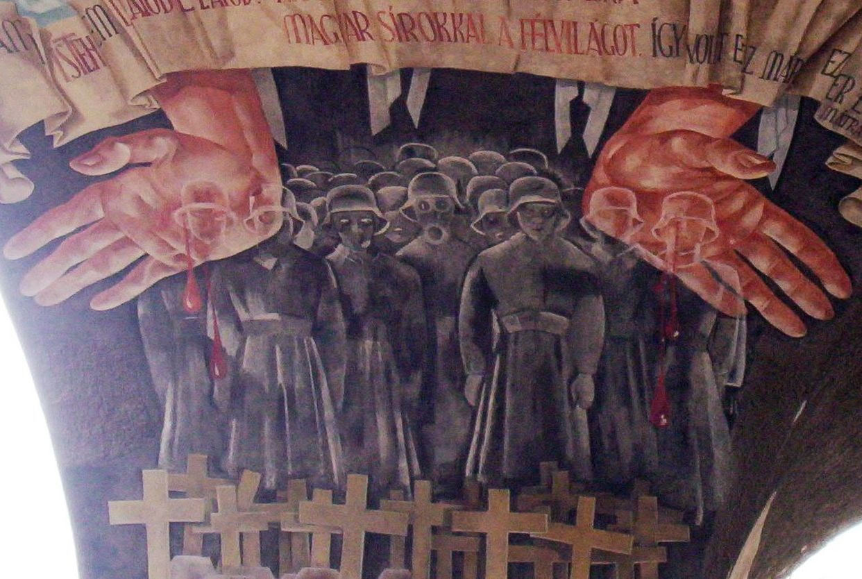 Artwork of the Month, March 2021: The Gate of Heroes in Szeged (1936)