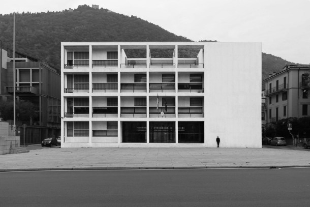 The House of Fascism in Como by Giuseppe Terragni, 1936