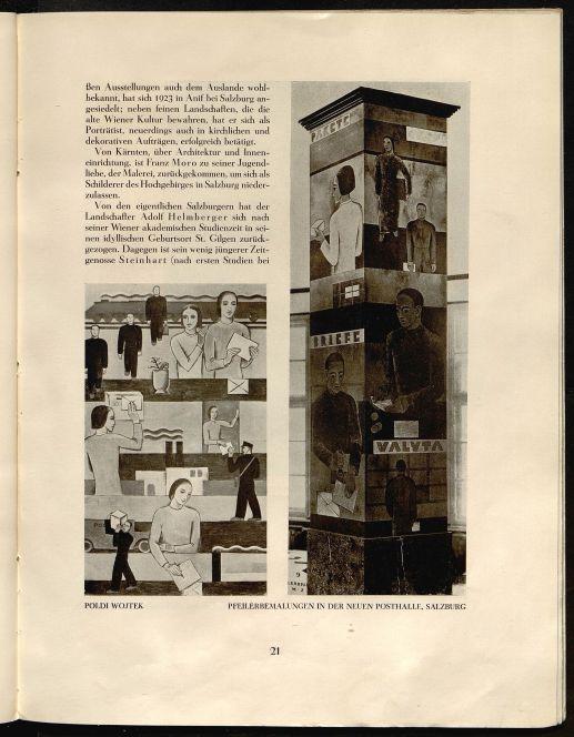 Julius Leisching, 'Salzburg's derzeitige Kunst,' Österreichische Kunst, 1.9 (1930), p. 21