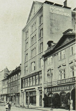 The Mozarteum by Jan Kotěra, 1913