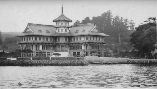 The Matsushima Park Hotel by Jan Letzel, 1913