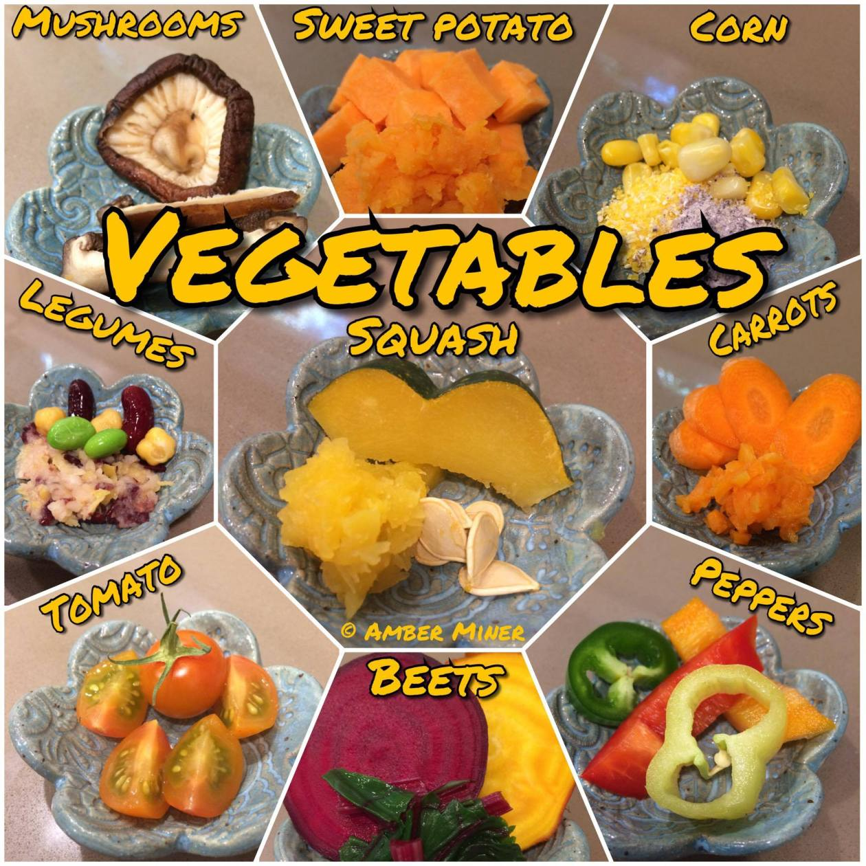 Vegetables for hermit crabs
