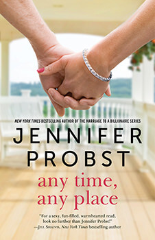 Tour Review: Any Time, Any Place by Jennifer Probst