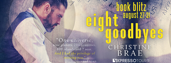 Sneak Peek from Eight Goodbyes by Christine Brae