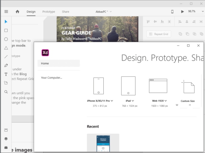 Adobe XD CC Free Download for PC-Adobe XD CC Free Download for PC