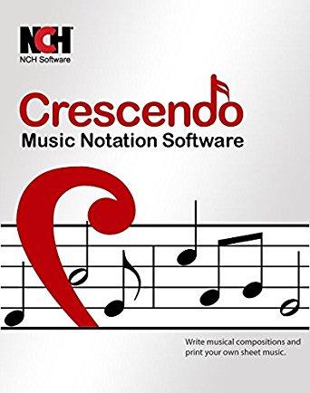 Crescendo Music Notation Editor