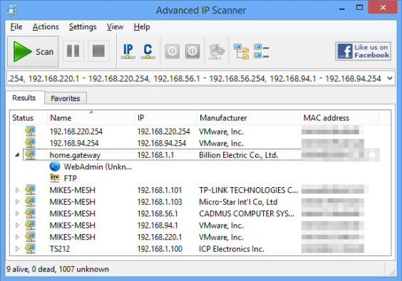 Advanced IP Scanner 2.5 Build 3850 Crack