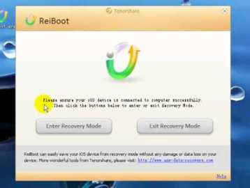Tenorshare ReiBoot Pro 7.2.9 Crack