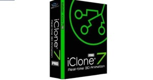 Reallusion IClone Pro 7.72.3818.1 Crack Free Download