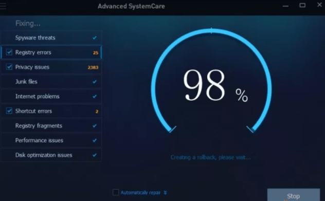 Advanced SystemCare 13.7.0.303 Crack Free Download