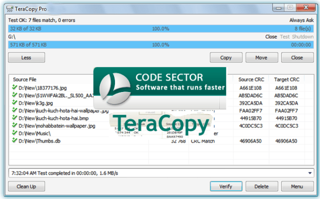 TeraCopy Pro 3.5 BETA Crack Free Download