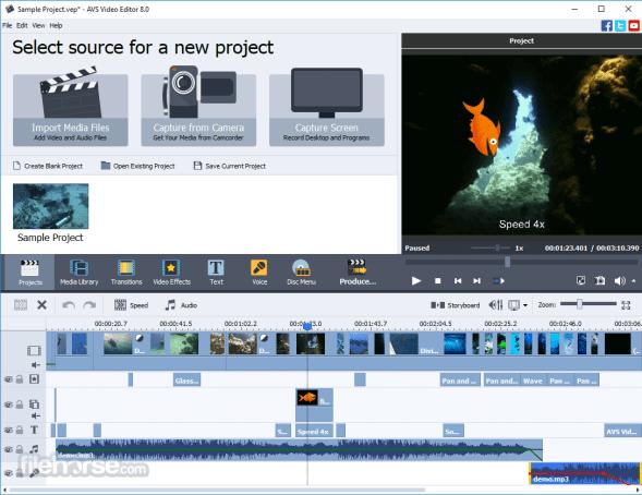 AVS Video Editor 9.4.5 Crack and Key Full