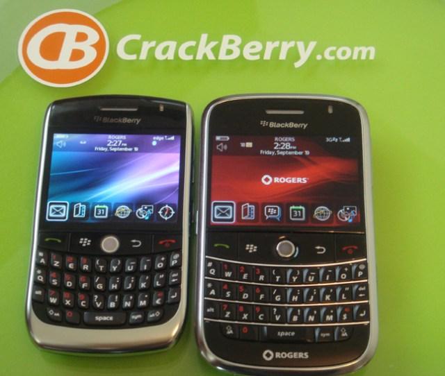 Blackberryelin  And Blackberry Bold  Side By Side