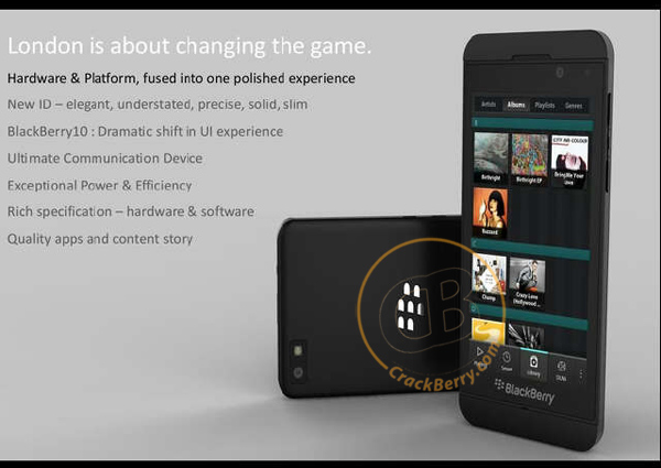 Exclusive: First Image of a BlackBerry 10 Smartphone!