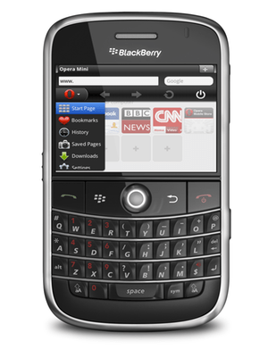 Opera Mini 6 now available on BlackBerry