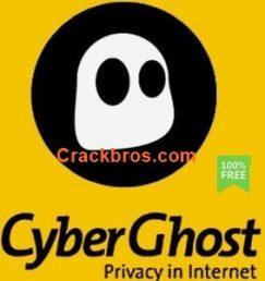 CyberGhost VPN 8.2.4.7664 Crack + Keygen Full Version 2021