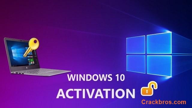 Windows 10 Activation Product Key 2020 Crack (All Version 32/64-bit)