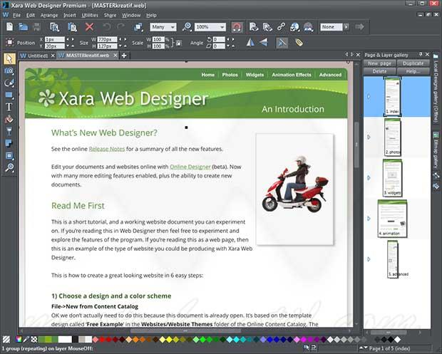 Xara Web Designer Premium 17.1.0.60415 Crack Full Version
