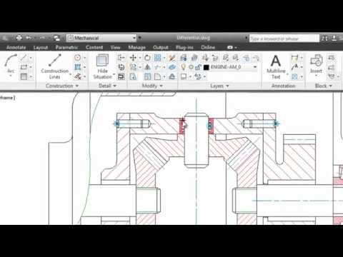 AutoCAD Mechanical Crack Download Full Version