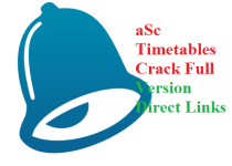 aSc Timetables Crack With Serial Key